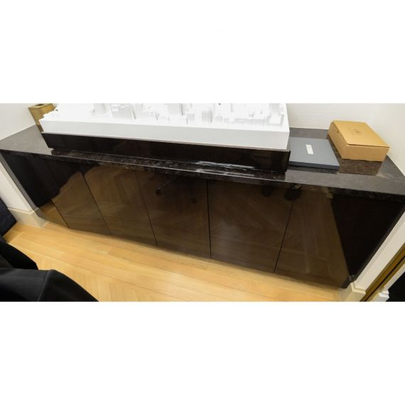 Smallbone High Gloss Built-In Sideboard
