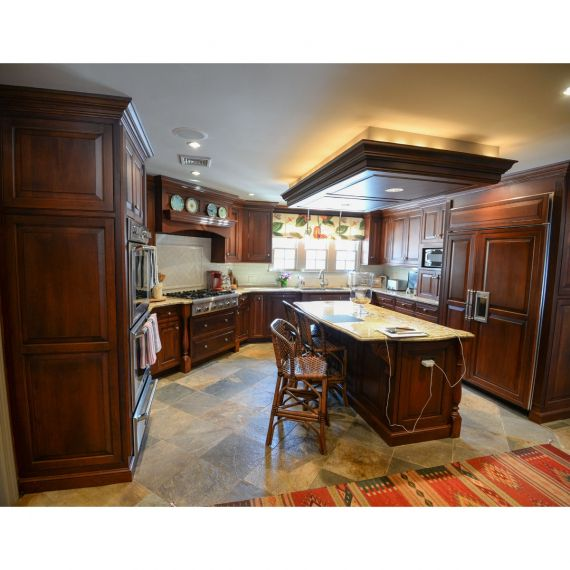 Cold Brew Traditional Pre-Owned Kitchen & Desk Area