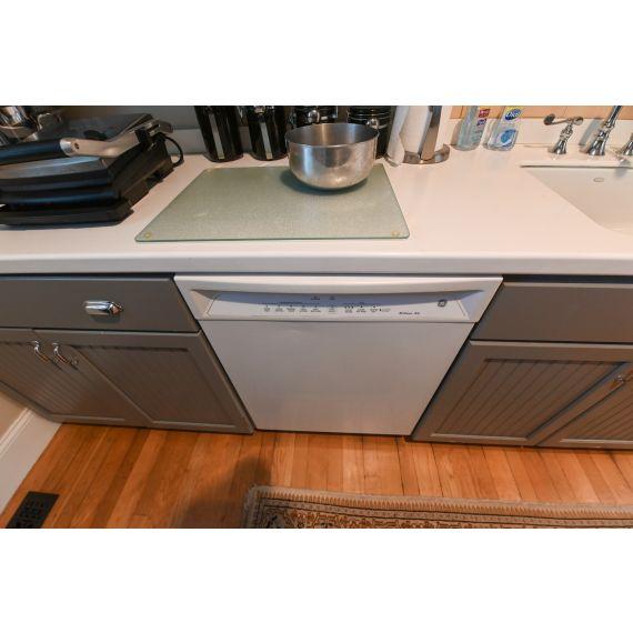 """GE 24"""" White Dishwasher"""