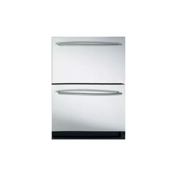"""U-Line 24"""" Stainless Built-In Combo Refrigerator Drawer & Ice Maker"""