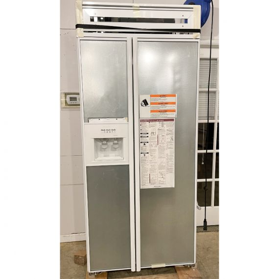 "KitchenAid 36"" Panel Ready Side X Side Refrigerator"