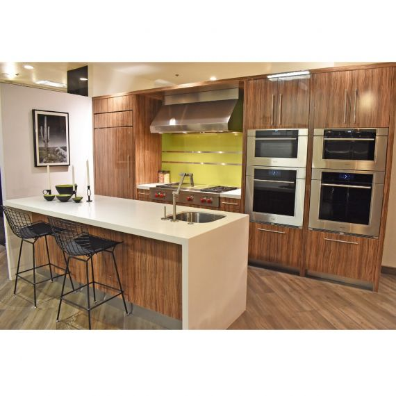 Irpinia Striated Modern Showroom Display Kitchen