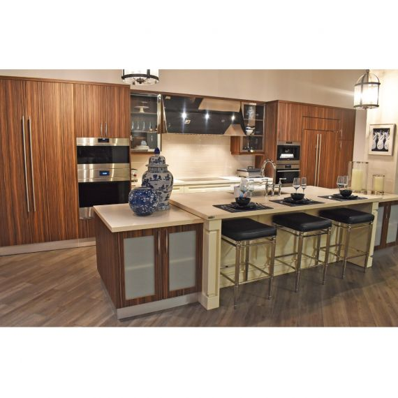 Downsview Two-Tone Transitional Showroom Display Kitchen