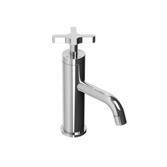 Lefroy Brooks Chrome Cross Handle Bath Faucet