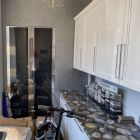 Composit Agate Modern Showroom Display Kitchen