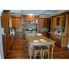 Apricot Glaze Traditional Pre-Owned Kitchen