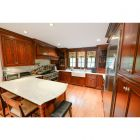 Warm Carob Traditional Pre-Owned Kitchen