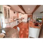 Linen White Traditional Pre-Owned Kitchen & Desk Area